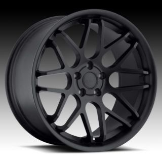 20 Euro Tek UO06 Black Rims Wheels G35 Mustang Lexus IS250 GS300 GS400