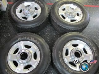 F250 F350SD Factory 18 Wheels Tires OEM Rims Michelin 275 70 18 3790