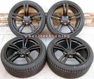 Series M5 Style Staggered Wheels and Tires Rims Fit BMW F10 F12