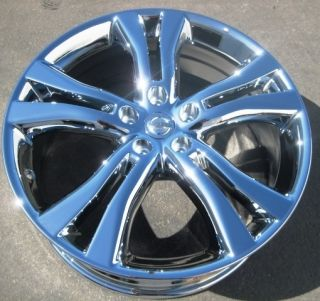 20 FACTORY NISSAN MURANO OEM CHROME WHEELS RIMS FX35 FX50 FX45 MAXIMA