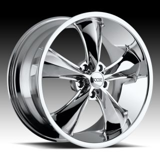 20 Chrome FOOSE Legend F104 SS Camaro Staggered Wheels Rims