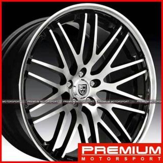 20 inch Rims Wheels Mercedes Benz SL600 SL55 Black Lexani CVX44