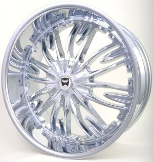 GWG G36 20 Chrome Wheels Rims Buick Century Rainer Terraza Regal