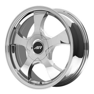 15 inch AR895 Chrome PVD Wheels Rims 4x98 Fiat 500 Abarth Cabrio