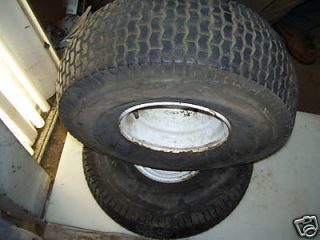 Noma Huskee 12 39 Rear Rims and Tires 20x8 00 8