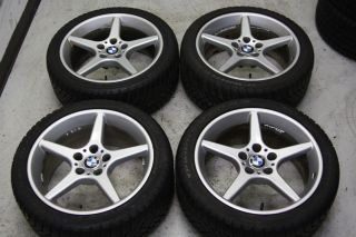 BMW E60 545i 18 Wheels Winter Snow Tires 525i 530i 535i 550i E39 M5