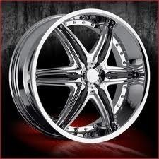 22 inch VCT Mobster Chrome Wheels Rims 5x115 40