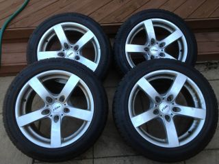 R17 Winter Snow Tires mounted on Aluminum Wheels Fits BMW 5 series E60