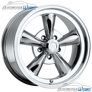 17x9 Vision Legend 5 5x127 5x5 0mm Chrome Wheels Rims inch 17