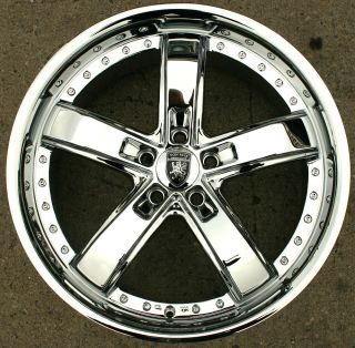 VM07 20 Chrome Rims Wheels Mercedes E320 CLK320 20 x 8 5 5H 38