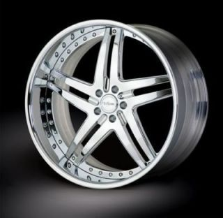 26 Vellano VTT Custom Forged Wheels Rims Lincoln Ford Dodge Cadillac