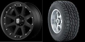 20 Rims Nitto Tires Black GMC Truck Sierra 6x5 5 6 Lug