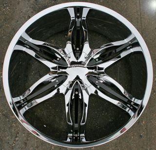 Viscera 778 22 Chrome Rims Wheels Tahoe Avalanche Escalade
