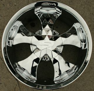 STRADA DIAMANTE 20 CHROME RIMS WHEELS LINCOLN NAVIGATOR / 20 X 8.5 6H