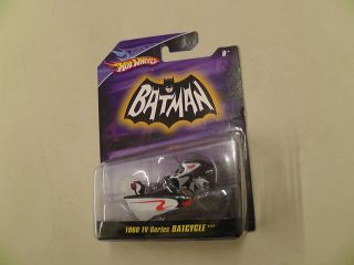 1966 TV Series Batcycle by Mattel Hot Wheels 2007 1 50 Scale