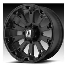 MISFIT BLACK RIMS WITH 325 50 22 NITTO TRAIL GRAPPLER MT TIRES WHEELS
