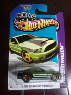 Hot Wheels 10 Ford Shelby GT 500 Supersnake Super Treasure Hunt 1 Day