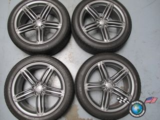 Four 2012 Audi Q5 Factory 20 Wheels Tires Rims OEM 5885 8R0601025N