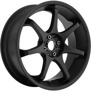 16 inch Motegi MR125 Black Wheels Rims 5x4 5 Sonata 5 Lug Q45 EX35