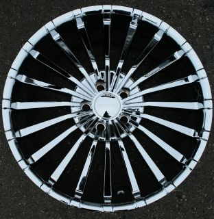 Panther Spline 911 20 Chrome Rims Wheels Lincoln MKS MKZ MKX