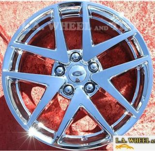 Set of 4 New 17 Ford Fusion Chrome Factory Wheels Rims 3797
