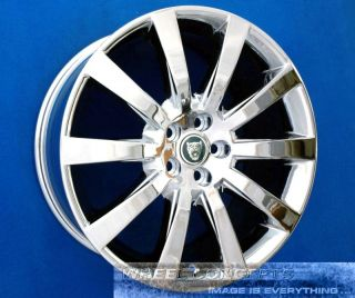 XKR CARELIA 19 INCH CHROME WHEEL EXCHANGE TOURING CONVERTIBLE 19 RIMS