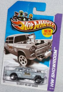 2012 Hot Wheels New Models 55 Chevy Bel Air Gasser 1955