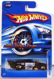 2006 Hot Wheels 1941 Willys Coupe 170