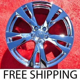 New 20 Infiniti M37 M56 Chrome Factory OEM Wheels Rims EXCHANGE 73731