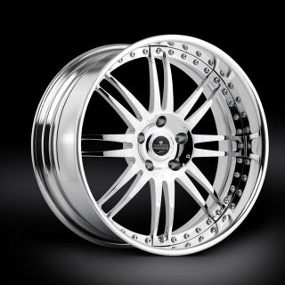 20 Savini SV9 Chrome Rims Wheels BMW 540 550 M5 M6 645i 650LI 745LI