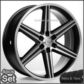 24 IROC Wheels Rims and Tires Chevy Escalade Nissan Tahoe Siverado He