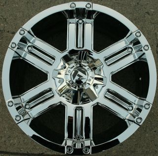 Fuel Gauge D503 20 Chrome Rims Wheels Infiniti QX56 04 Up 20 x 9 0 6H