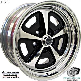 17x8 17x9.5 AMERICAN RACING VN500 WHEELS IN STOCK, CHEVY CHEVELLE 1968