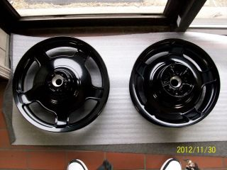 Harley Street Glide Road Glide Wheels Gloss Black Powder Coat Touring