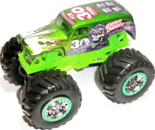 Digger 30th Anniversary 1 64 Scale Hot Wheels Monster Jam Truck