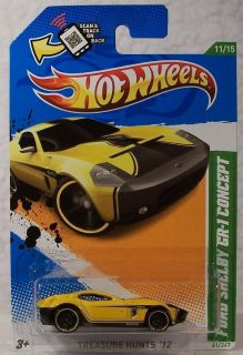 2012 Hot Wheels Treasure Hunt 61 Ford Shelby GR 1 Concept 11 15