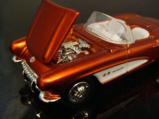 Hot Wheels 57 Corvette Roadster Fuel Injection 1 64 Scale Limited Edit