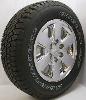 2012 Chevy Silverado 18 Z71 Wheels with Bridgestone Dueler P265 65R18