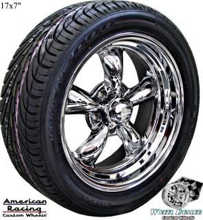 AMERICAN RACING TORQ THRUST WHEELS RIMS NEXEN TIRES CHEVY CAMARO 1967