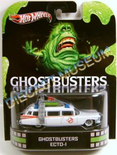1959 59 Cadillac Ghostbusters Ecto 1 Slimer Retro Hot Wheels HW