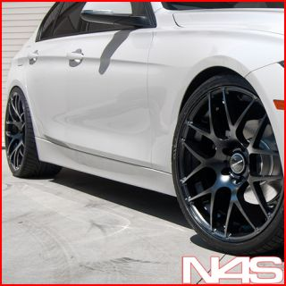 E65 E66 745 750 AVANT GARDE M310 CONCAVE BLACK STAGGERED WHEELS RIMS
