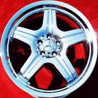 NEW 20 MERCEDES BENZ ML63 AMG ML500 ML550 OEM CHROME WHEELS RIMS 65428