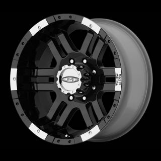 18 Wheels Rims Moto Metal Gloss Black with 295 70 18 Nitto Trail