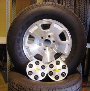 Chevy GMC 2009 Tahoe Suburban Yukon 17 inch Wheels Tires