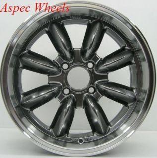 Rota RB 16x7 4x114 3 ET10 73 1 Hyper Black Rim Wheels