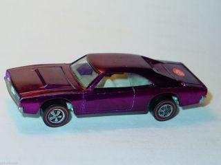 Hot Wheels Redline Custom Dodge Charger Magenta Spectraflame Nice