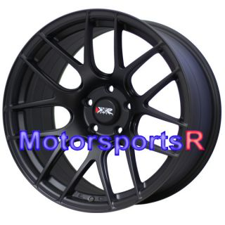 18 x 8 75 9 75 XXR 530 Flat Black Wheels Rims Concave 5x114 3