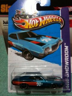 Hot Wheels 2013 Super Treasure Hunt 72 Ford Gran Torino Sport