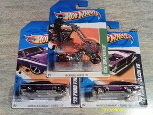 Hot Wheels73 Ford Falcon XB 1 in A Super Secret T Hunt Regular OCC