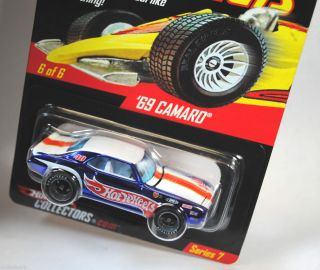 Hot Wheels RLC Real Riders 1969 69 Chevy Camaro 654